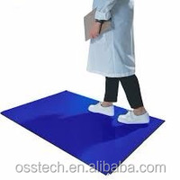 Good quality Private Label Disposable Cleanroom Sticky Door Mat