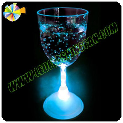 Neon Wine glass with led flashing color/bar items/bar/party decoration