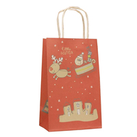 Wholesale Top selling popular christmas packaging craft paper bag