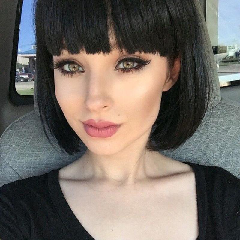 Awe Inspiring Online Get Cheap Chinese Bangs Hair Style Aliexpress Com Short Hairstyles For Black Women Fulllsitofus