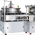 GF30-6 monoblock 2 in 1 beer aluminum can filler seamer / sealer / canning filling machine