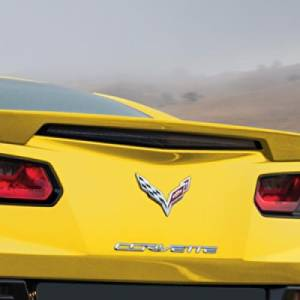 2016 Chevrolet Corvette Corvette Racing Yellow Blade Spoiler Kit - 23214212