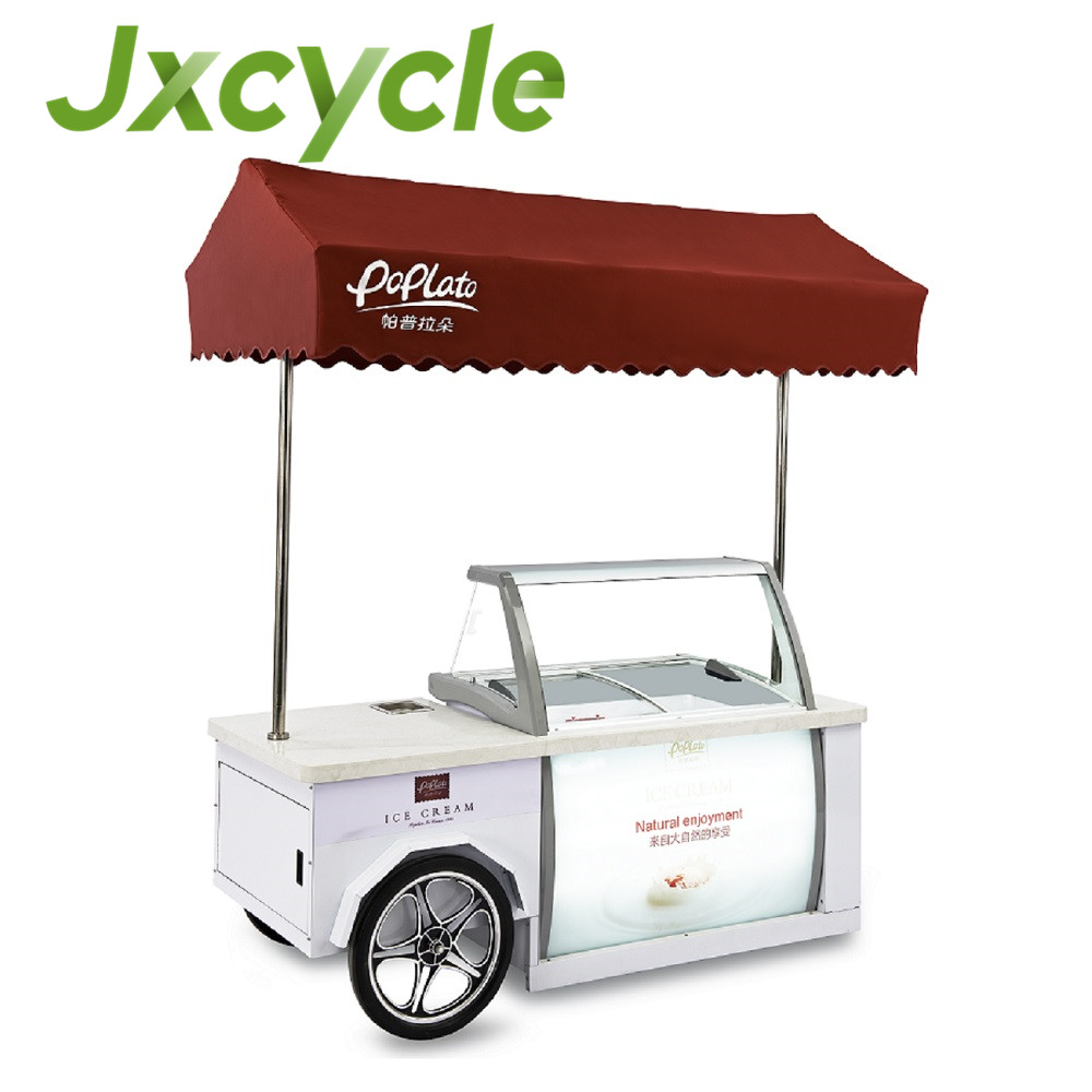 Electric car popsicle ice cream vehicle trike tricycle cart for sale