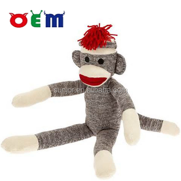 custom of sock monkey,custom plush toy