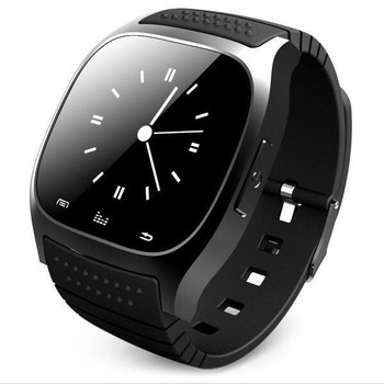 Hot in 2016 bluetooth fitness smart watch M26 smartwatch phone with LED touch screen pedometer for android IOS xiaomi phone