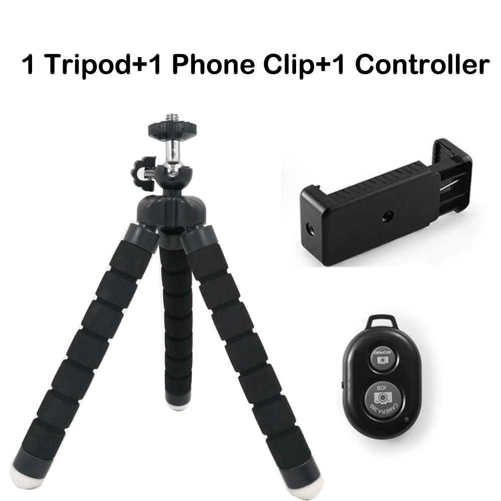 DUSZAKE гибкий мини-штатив Gorillapod Octopus для камеры телефона мини-штатив для мобильного телефона Штатив для iPhone Samsung Xiaomi(Китай)