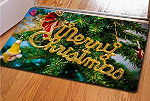 Christmas doormat Bedroom mats Kitchen mat Living room floor mats Door mat Rubber mat bedroom mats kitchen mat, 4060cm