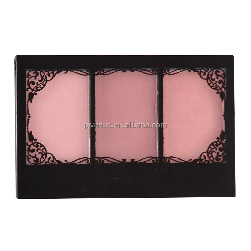 Three Colors Long lasting Blush