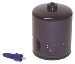 Sierra International 18-7967 Fuel Water Separator Filter, V6 EFI, 1995 and Earlier with Sensor - BLACK