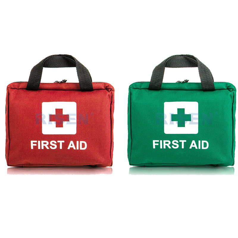 20 person individual customised sports training waterproof nylon fabric first aid kit bag for school