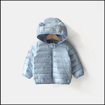 Light Fabric Portable Keep Warm Baby Down Jacket - Buy Down ... 4629edc72539