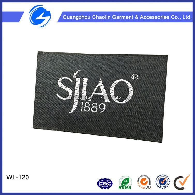 Sample Free High Density Garment Fabric Woven Label For Clothing Elegant Clothing Labels And Hang Tags