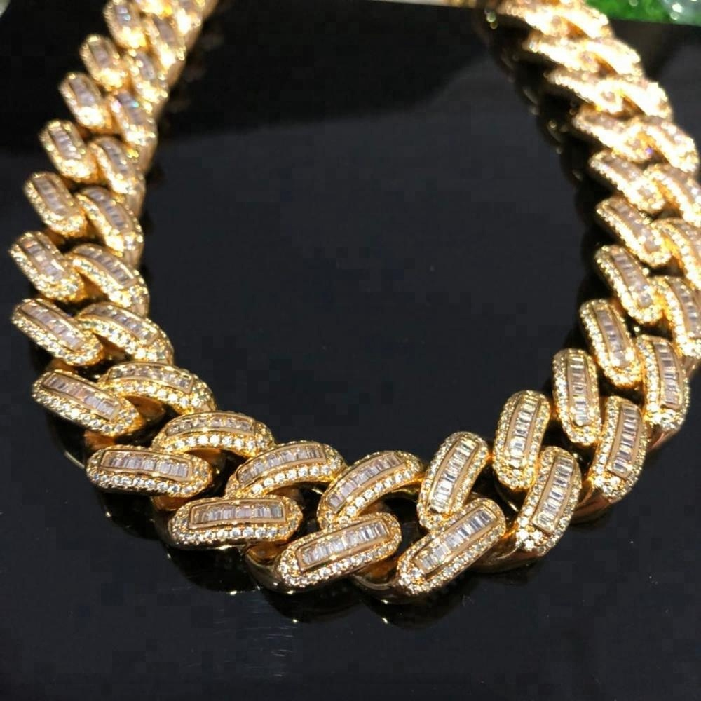 99b82e5e57af6 Aaaa Gold Necklace Cuban Link Chain Fashion Cz Hip Hop Jewelry - Buy Hip  Hop Jewelry,Iced Out Cuban Link Chain Necklace,Iced Out Cuban Link Chain ...