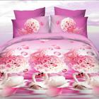 Wholesale 3D Printed Cotton Bedding Set Duvet Cover Bed Sheet for Home