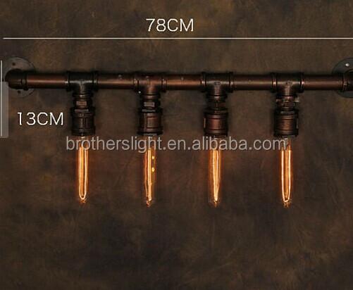 Nuovo lampade edison tubo di tipo industriale arte antica