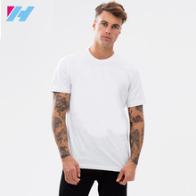 Yihao Wholesale High Quality Blank White Men Sports t shirt Fitness T Shirts Runing Dri Fit Shirts
