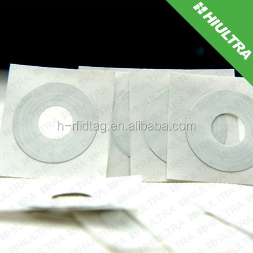 HF/UHF paper CD/DVD tag with sticker from original manufacturer