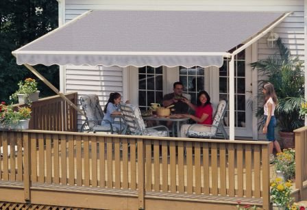 Buy 12FT SunSetter Taupe 1000XT Retractable Awning in ...