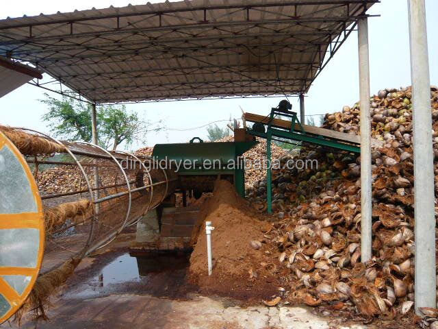 Coconut Shell/palm Kernel Shell Dryer Machine With Crushing System ...