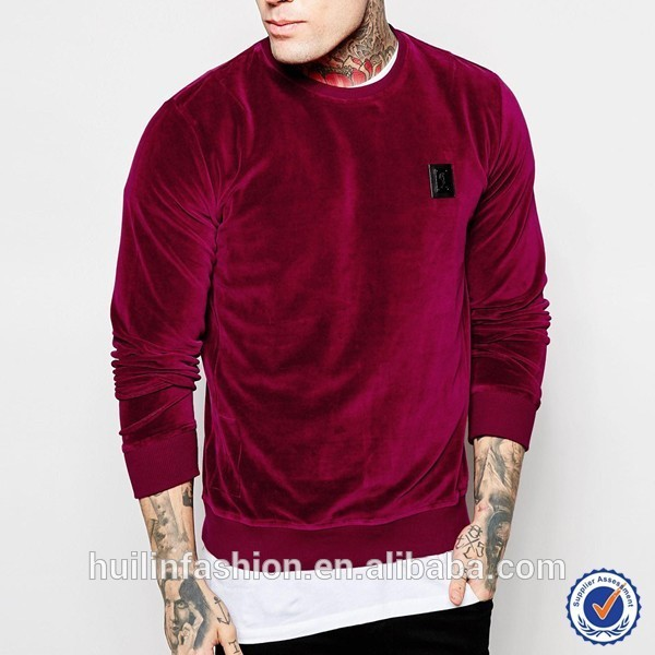 Mens T-shirt Wholesale China Long Sleeve Zip Side Curve Hem Latest ...