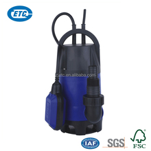 Hot selling plastic electric clean water pump low prices