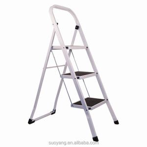 NEW EN131 Aluminum Ladder fold 2 step stool/2-7 step ladder