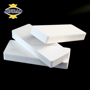 Jinbao laminated polystyrene sheets extruded 18mm pvc foam board