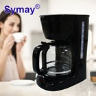 Symay high quality single serve drip Coffee maker machine with switch control