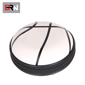 Protection Carry Hard Case Promotional Hard Round Earphone eva Bag Case