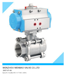 Wb-66 Ball Valve Wafer Type And Monoblock With Double-effect ...