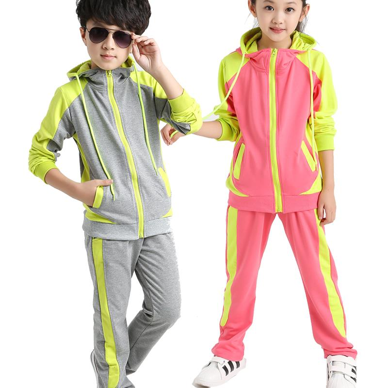 dda826eaf Get Quotations · 2015 Hot Autumn Kids Clothes Boys Girls Clothing Sets Kids  Tracksuits Children Boys Clothing Set Sport