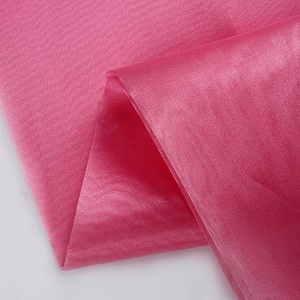 china supplier useful morbidezza crystal organza fabric for bright dress and wedding dress