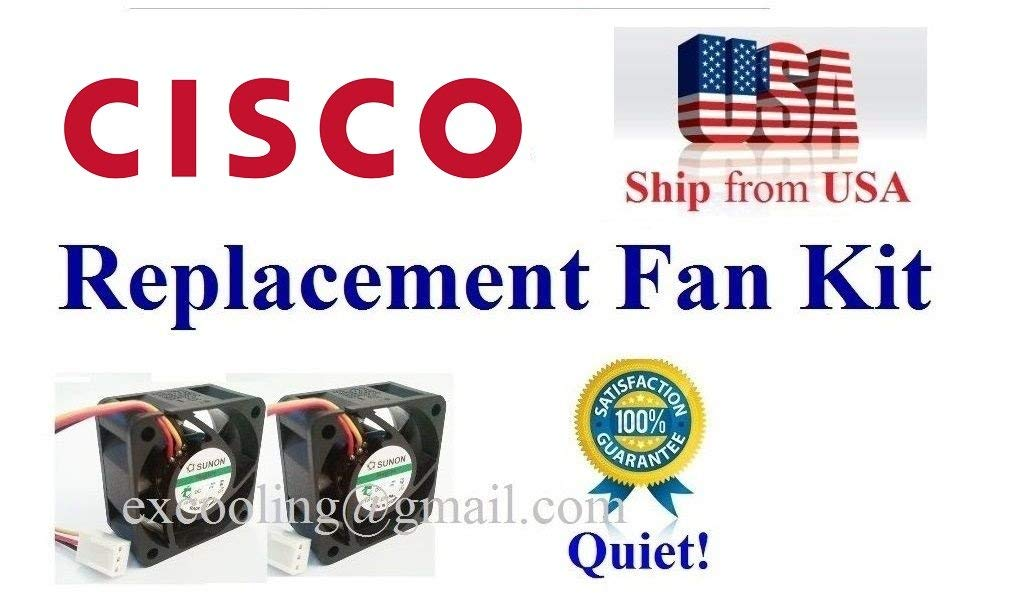 Cisco Linksys SRW2048 Replacement Fan 12dBA Noise Satisfaction Guarantee! Quiet
