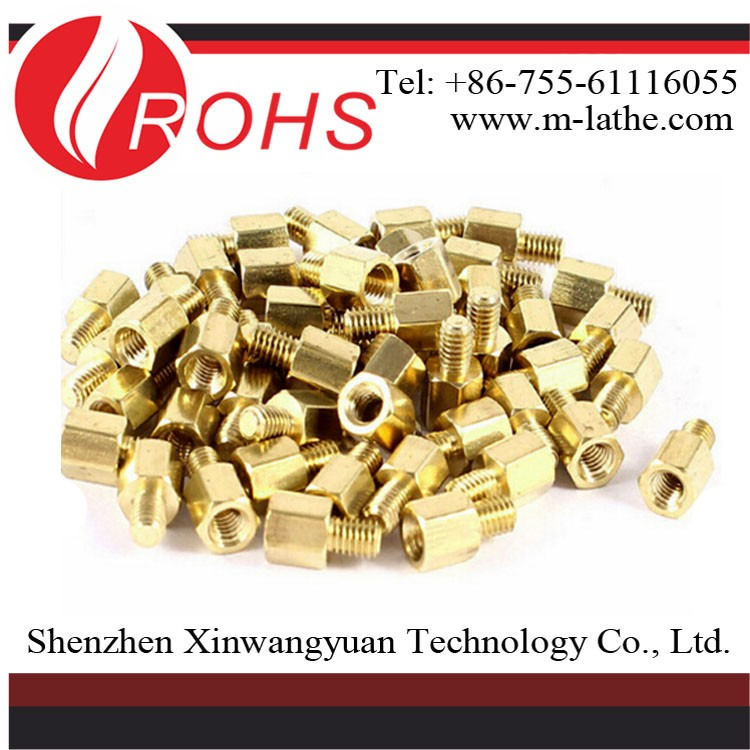 fasteners male female brass threaded standoff OEM factory with 15 years experience