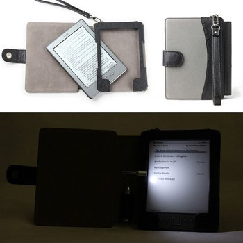 Amazon Kindle 4 Case With Light / Kindle 4 Cover Wallet With Light - Buy  Kindle 4 Case Light Product on Alibaba com