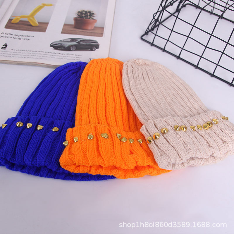 High Quality Plain Winter Children Custom Embroidery Knitted Wholesale Cashmere Beanie Hats