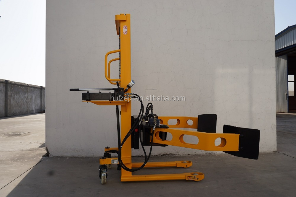 Clamp Forklift Controls : Electric high lift hydraulic forklift paper roll clamp