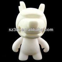 cute little dog blank diy vinyl toy for children