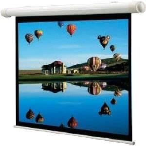 "Draper, Inc - Draper Salara Plug & Play Electric Screen - 60"" X 80"" - Fiberglass Matt White - 100"" Diagonal ""Product Category: Accessories/Projection Screens"""