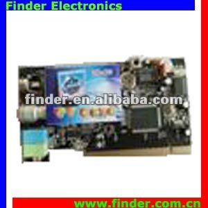 remote-tv station, remote video film PCI TV Card with FM