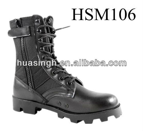 WH,SHOCK RESISTANT panama rubber sole army elite jungle boots with air vent