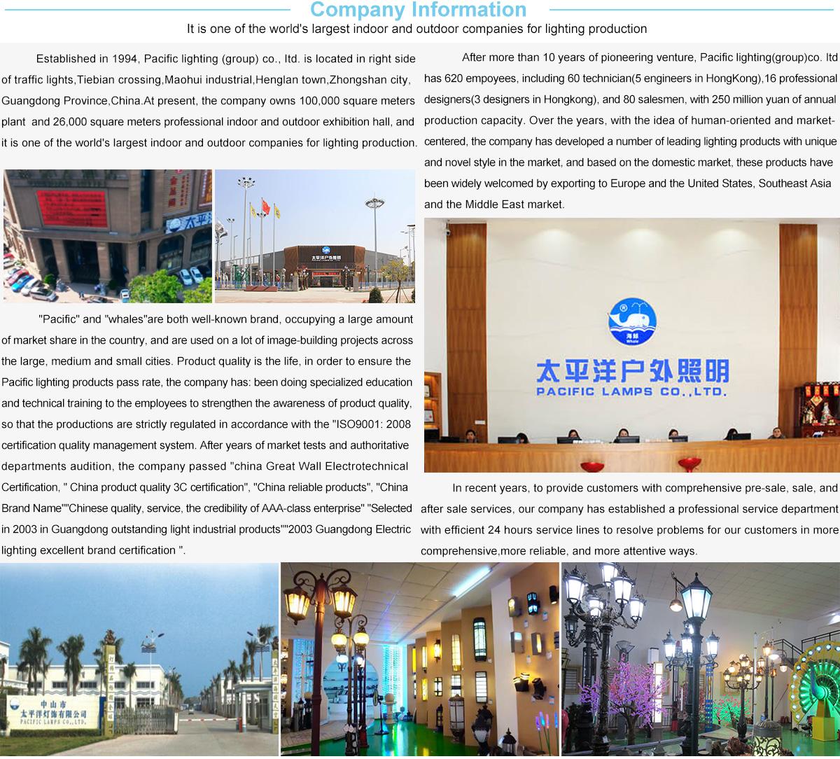 Zhongshan Pacific Lamps Co Ltd Led