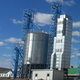 Welding bulk steel silo/Galvanzied corrugated steel silo/Hopper bottom silo