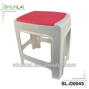 Pleasing New Plastic Two Colors Anti Skid Step Stool Buy Plastic Anti Slip Step Stool Single Step Stool Fishing High Stool Product On Alibaba Com Pabps2019 Chair Design Images Pabps2019Com