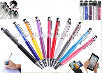 Top selling promotional pens stylus pen or crystal pen wedding favor