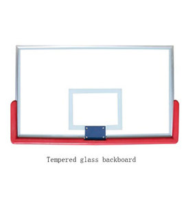 2019 High Quality Tempered Glass Basketball Board Outdoor