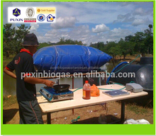 Puxin Effective Collapsible PVC Biogas Storage Bag for Biogas Plant System 10m3