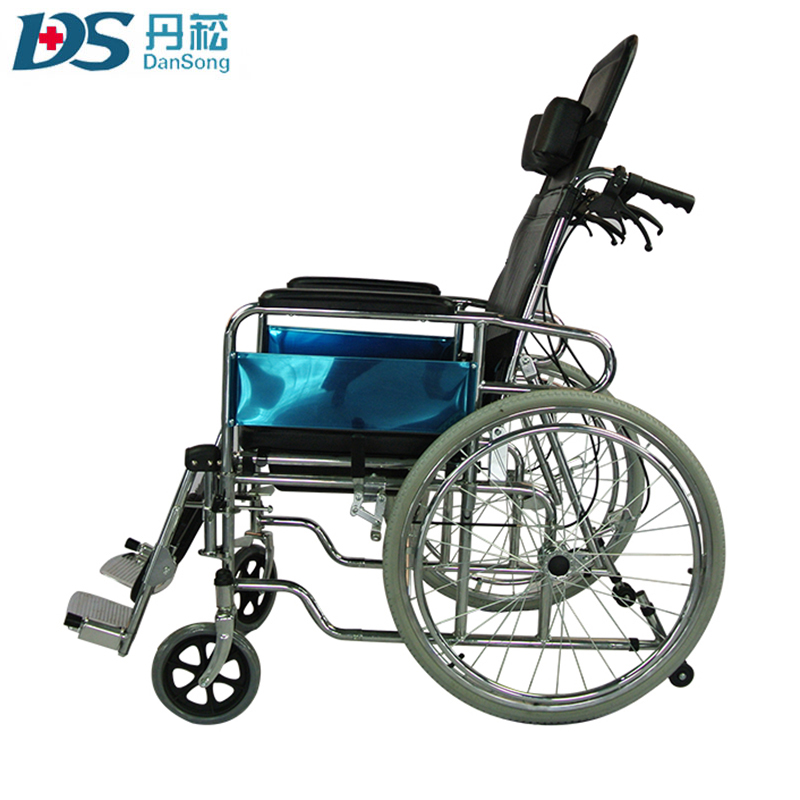 High back big front wheel reclining wheelchair ML-609QDS
