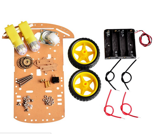 2WD Roboter Smart Auto Chassis Kit 2 Rad Smart Auto DIY Kit für Bildung