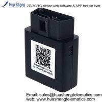 easy obd2 gps tracker[2G, 3G, 4G, OBD] for insurance telematics
